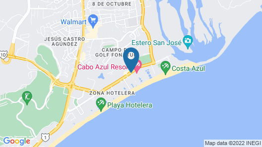 Cabo Azul Resort by Diamond Resorts Map