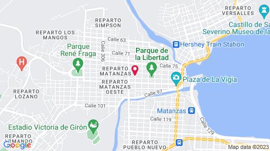 Casa Manzaneda Map
