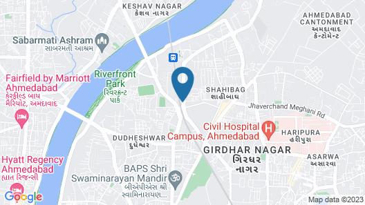 Hotel Naeeka Map