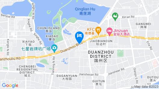 Zhaoqing Fashion Hotel Map