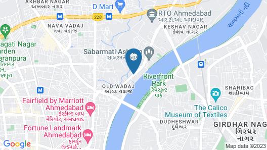 Silver Cloud Hotel & Banquets Ahmedabad Map