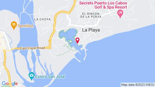 Hotel El Ganzo Map
