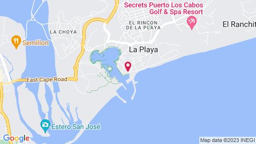 La Marina Inn Map