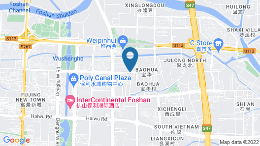 Iway International Apartment Map