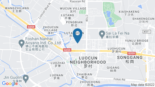 Aimoer Hotel - Foshan Map