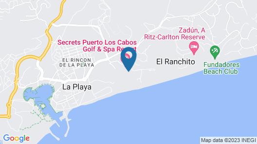 Secrets Puerto Los Cabos Golf & Spa Resort Map