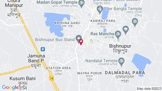 Spot ON 60744 Lodge Meghmallar Map