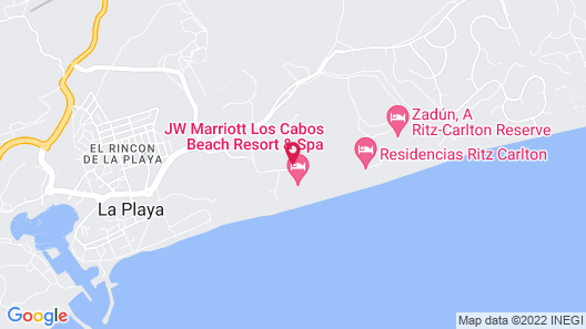 JW Marriott Los Cabos Beach Resort & Spa Map
