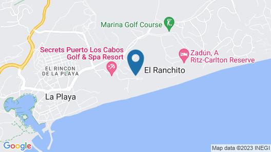 JW Marriott Los Cabos Beach Resort & Spa Map