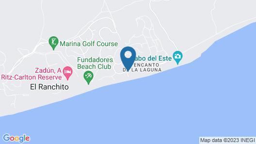 Casa Piedra Blanca Map