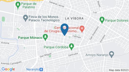 La Rosa de Ortega Map