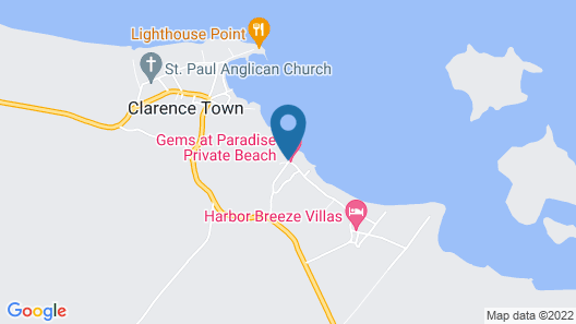 Gems at Paradise Beach Hotel Map