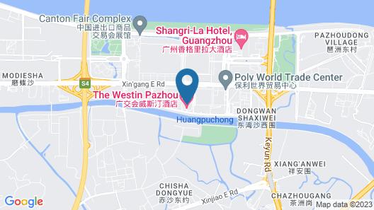 The Westin Pazhou Map