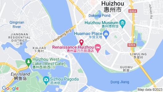 Renaissance Huizhou Hotel Map
