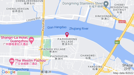 Intercontinental Guangzhou Exhibition Center Map