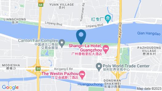 Shangri-La Hotel Guangzhou Map