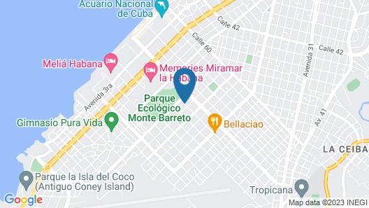 Residencial Casa Miramar Map