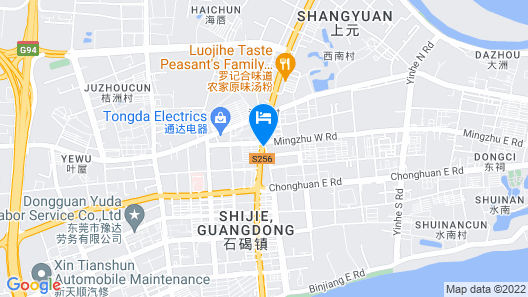 Dongguan Delight Empire Hotel Map