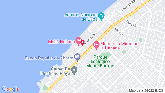 Melia Habana Map