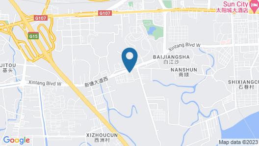Guangzhou Zhongdao International Hotel Map