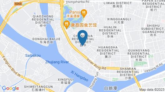 Guangdong Victory Hotel Map