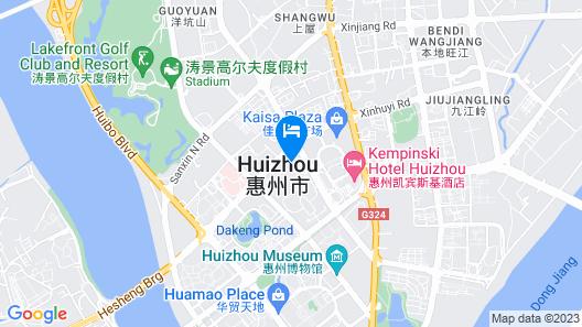 Kempinski Hotel Huizhou Map