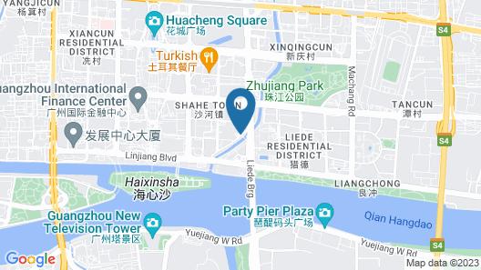 Conrad Guangzhou Map