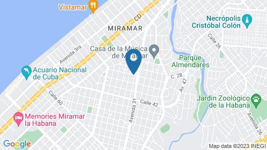 Alas Habana B&B Map