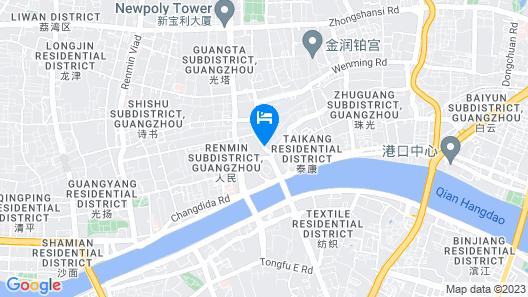 Guangzhou Hotel Map