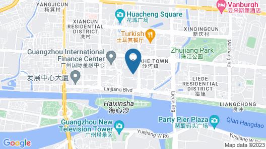 The Ritz-Carlton, Guangzhou Map