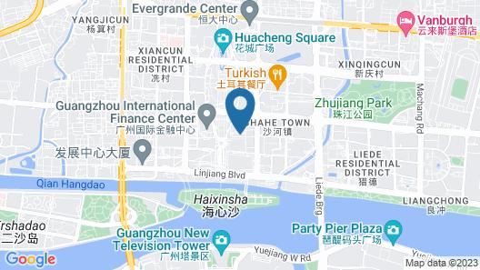 Rosewood Guangzhou Map