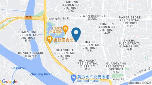 Lung Cong Mansion Guangzhou Map