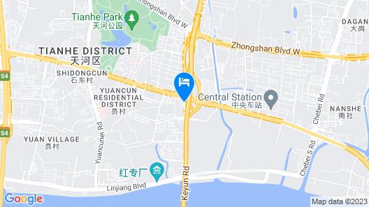 Jinjiang Inn Guangzhou Pazhou Exhibition Center Map