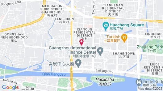 Four Seasons Guangzhou Map
