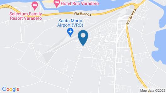 Hostal Katia Map