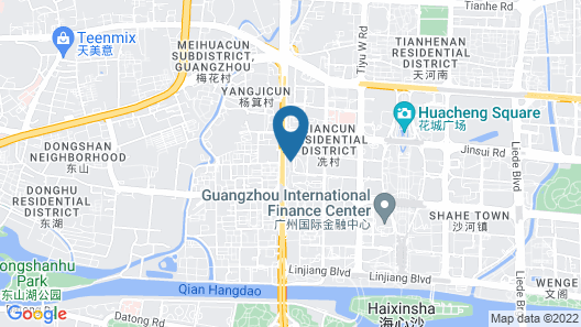 Park Hyatt Guangzhou Map