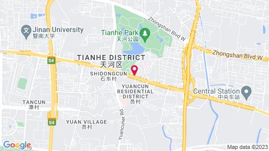 Soluxe Hotel Guangzhou Map