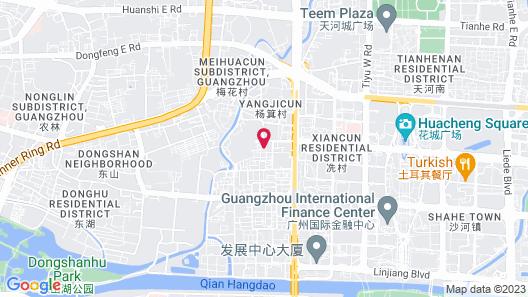 Leeden Hotel Guangzhou Map