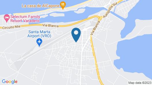 Blue House Varadero Map