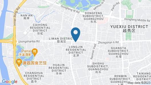 Guangzhou Kingsky Hotel Map