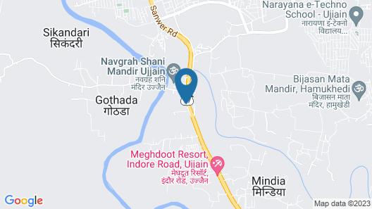 Rudraksh Club & Resort Map