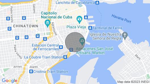 Casa Luis Rivero Map