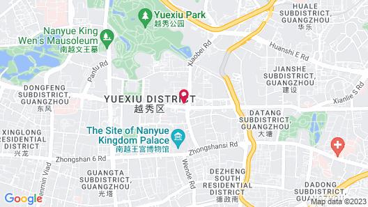 DoubleTree by Hilton Hotel Guangzhou Map