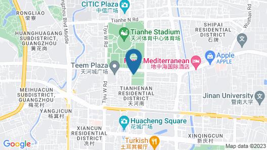 MSC CITY CENTRE APARTMENT HOTEL Map