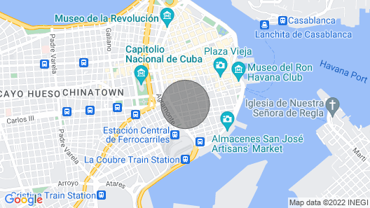 Apartment Mary - Old Havana Vacation Rentals Map