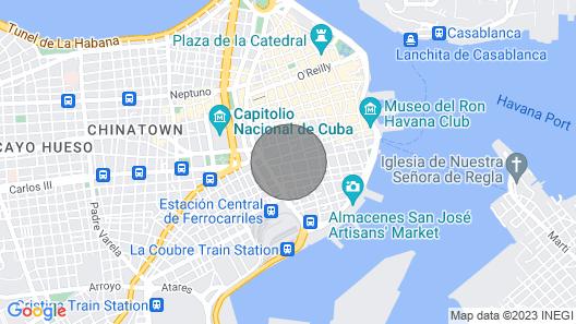 Apartment Elo - Habana Vieja Vacation Rentals Map
