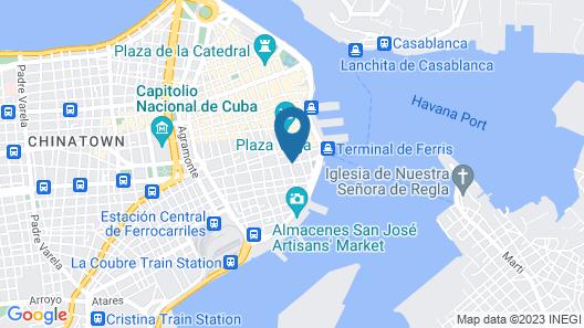 Loft Habana Map