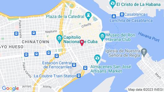 Hostal del Buen Viaje Map