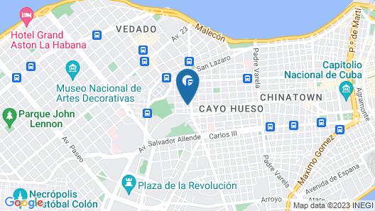 Residencia  Varela Map