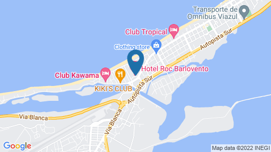 Roc Barlovento Hotel - Adult Only - All Inclusive Map